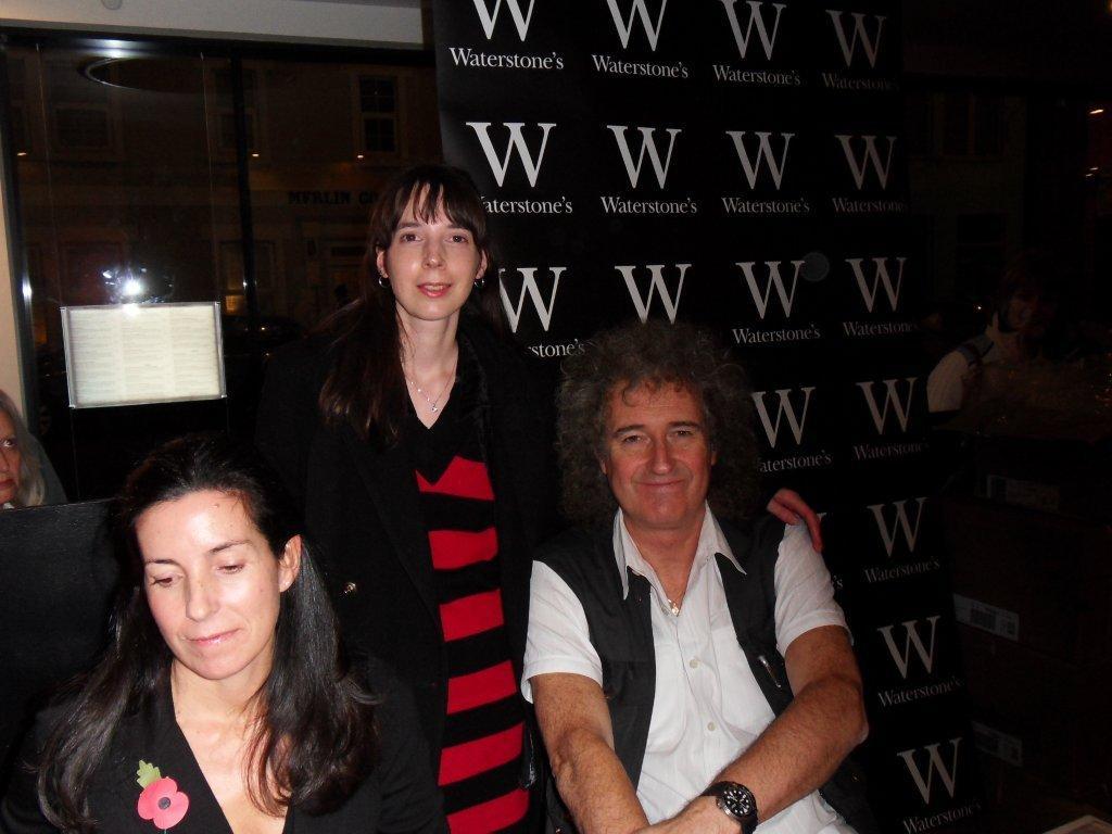 Dr.Brian May, Stephanie Lynne, Elena Vidal.
